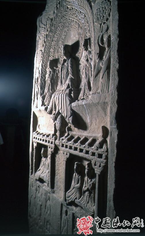 北魏神龟元年刘文朗造像碑背面造像