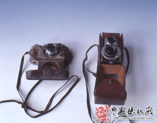 延安电影团工作人员使用过的照相机