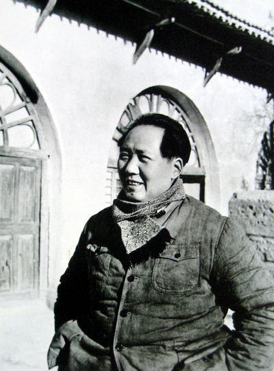 1946年毛泽东在延安