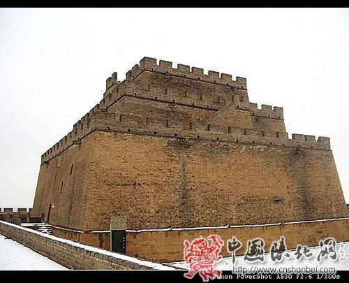 雪中镇北台