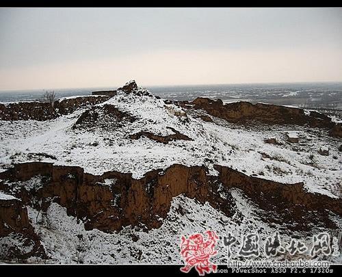 万里长城第一台:榆林镇北台