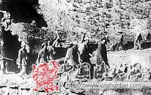 毛泽东在转战陕北途中